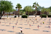 Arizona Submariners Memorial and the Eternal Flame
