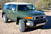The 2014 Toyota FJ Cruiser, our newest addition.