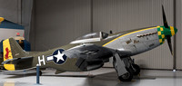 The legendary P-51 Mustang.